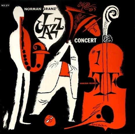 Norman Granz album cover | Jazz and Draw | Jazz Plus | Scoop.it