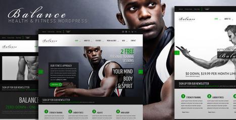 Balance - Gym Fitness WordPress HTML 5 Theme   Medical wordpress themes   Scoop.it