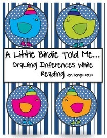 "FREE LANGUAGE ARTS LESSON - ""Drawing Inferences Printable 