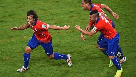 Sanchez stars as Chile overcome Australia | FIFA World Cup Brazil 2014 | Scoop.it