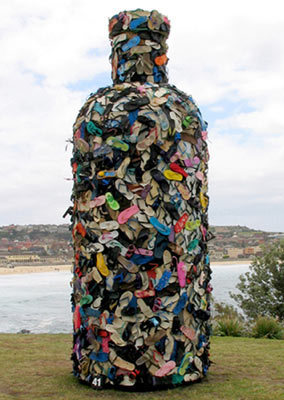 John Dahlsen - Environmental art, recycled art and abstract paintings #Art #Instalations | No. | Scoop.it