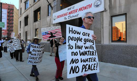 Detroit's Fight for Water Rights Is Showing How to Battle (and Beat) Austerity ... - The Nation. (blog) | Sediment transport mechanics | Scoop.it