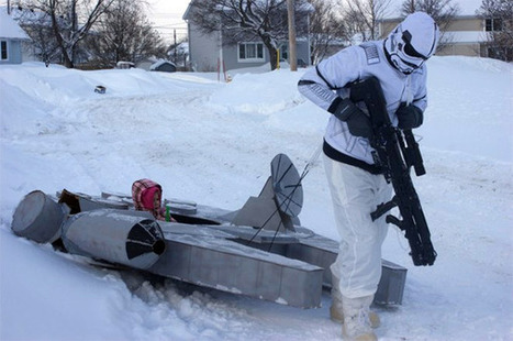 Every Kid Needs a Millennium Falcon Sled! | Geek On | Scoop.it