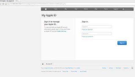 #iCloud : une campagne de #phishing tente de dérober des #Apple ID   #Security #InfoSec #CyberSecurity #Sécurité #CyberSécurité #CyberDefence & #DevOps #DevSecOps   Scoop.it