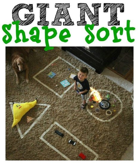 Giant Shape Sort | The Martin Institute | Scoop.it