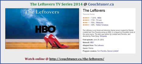 Watch The Leftovers Online Streaming - CouchTuner TV Shows Free | Company Registration | Scoop.it