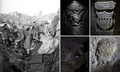 Stunning network of carved WWI tunnels rediscovered in France | Social Studies Education | Scoop.it