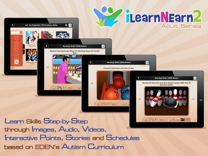Great iPad App for Autistic Children & Adults | Edtech PK-12 | Scoop.it