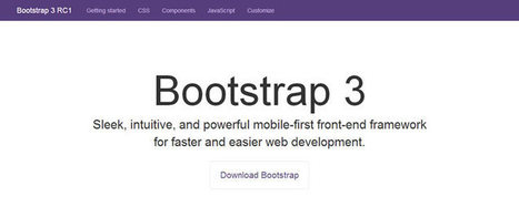 Bootstrap version 3 (rc1) is out! | SPIP - cms, javascripts et copyleft | Scoop.it
