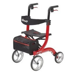 Reviews Drive Medical Nitro Euro Style Rollator Walker (Red)   The Arts Of Healthy Care   Scoop.it