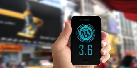 WordPress 3.6: as novidades da nova versão do WordPress!   GuiaDoDinheiroOnline   Scoop.it