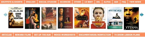 Teach With Movies - Lesson Plans in History, English, Science for High School, Middle School, Elementary, Home School | Long-life learning | Scoop.it