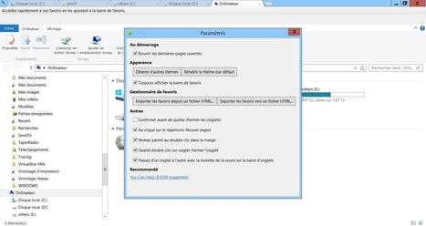 Clover : Windows Explorer en mode onglets | Informatique | Scoop.it