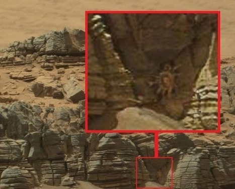 Alien 'Crab Monster' Is Sighted In Cave On Mars | The Truth May Be Out There | Scoop.it