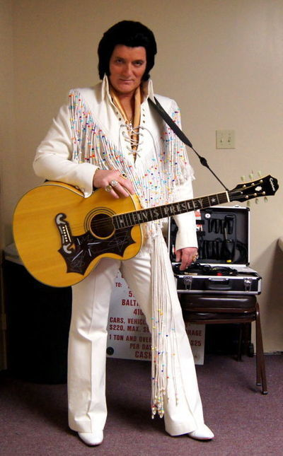 Q&A with Elvis tribute artist Richard Blane - Cecil Whig | Elvis Tribute News | Scoop.it