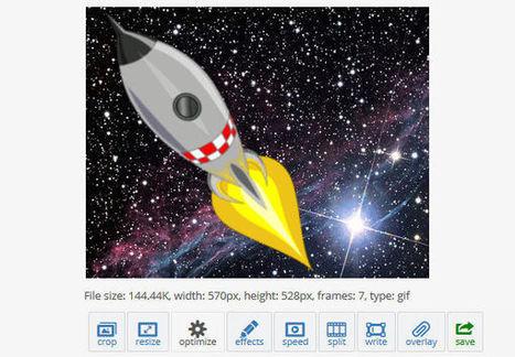 Une boite à outils en ligne pour créer et éditer vos GIFs animés | Boite à outils blog | Scoop.it