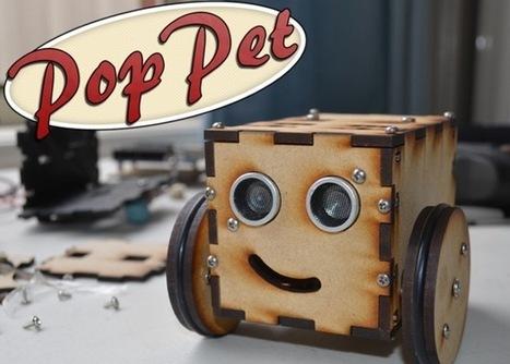 PopPet Arduino Open Hardware DIY Robot Kit (video)   Peer2Politics   Scoop.it