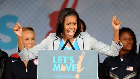 First Lady Michelle Obama launches new campaign against ... | Fitness Center | Scoop.it