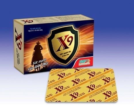 X9 , điều trị bệnh yếu sinh lý, tăng cường sinh lý | dược phẩm | Scoop.it