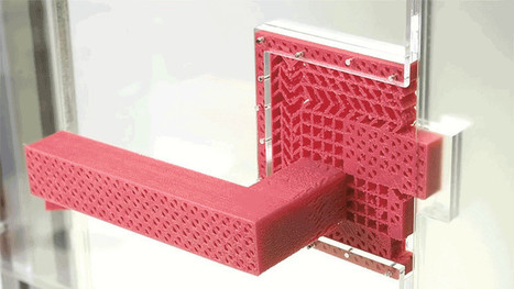 This Simple 3D-Printed Door Handle Works Without Any Moving Parts   DigitAG& journal   Scoop.it