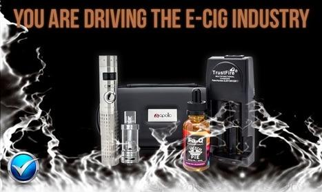 Vapor Cigarettes Are A Consumer-Driven Revelation   The ECCR Blog   Scoop.it