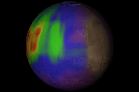 Spongy minerals could explain why Mars gives off methane burps | Geology | Scoop.it
