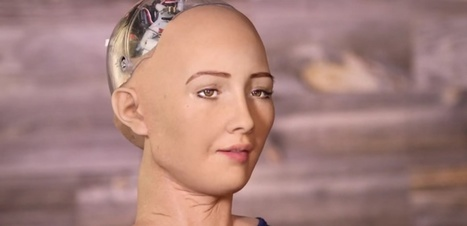 Sophia, le robot de Hanson Robotics qui va vous faire peur | La Robotique | Scoop.it