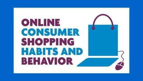Online consumer shopping habits & behavior [infographic] | Consumer behavior | Scoop.it