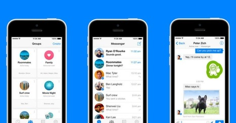 Facebook Messenger for iOS Gets Groups and Forwarding | Business Industry | Scoop.it