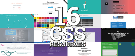 16 Awesome CSS Libraries and Resources | Programming | Scoop.it
