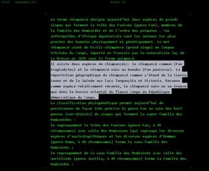 Résultat de Recherche write monkey « Association Cougart | Nouvelles des TICE | Scoop.it