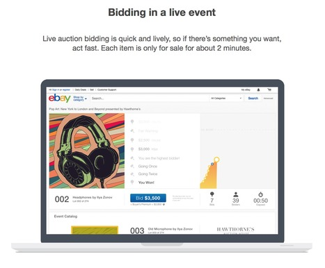 eBay launches Live Auctions Again | Fine Art News | Scoop.it