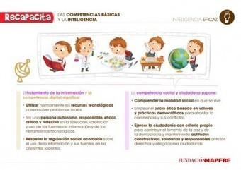 Inteligencias múltiples y Competencias Básicas - Orientacion Andujar | Educación emocional e inteligencias múltiples | Scoop.it