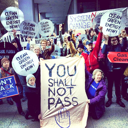 Hundreds March at Solidarity Action in NYC in Fight Against Fossil Fuels | EcoWatch | Scoop.it