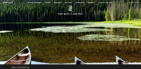 Ritz-Carlton launches new website, homepage display of guests social media photos   Web marketing turistico   Scoop.it