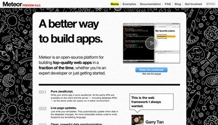 Building An App In 45 Minutes With Meteor   Smashing Magazine   nodejs   Scoop.it