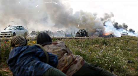 In a Field of Flowers, the Wreckage of War in Libya | Coveting Freedom | Scoop.it