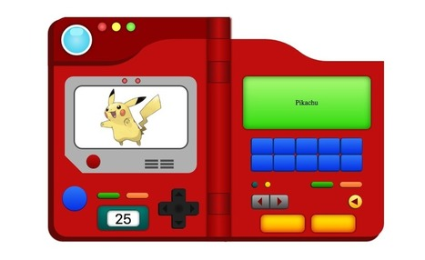 Learning CSS in a day ? Easy ! Build a Pokedex. | Bazaar | Scoop.it