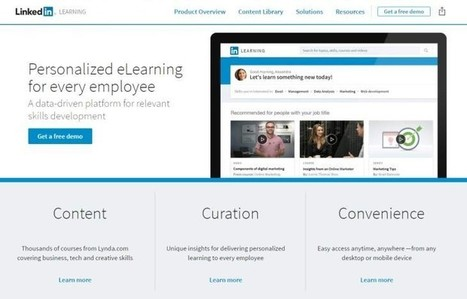 LinkedIn lanza nueva plataforma de aprendizaje online y rediseñará su web de escritorio | Information Technology & Social Media News | Scoop.it