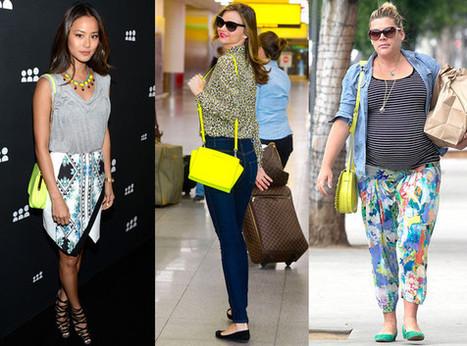 Fashion Trend: Neon Yellow Crossbody Bags - E! Online   Bold Fashion   Scoop.it