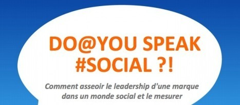 [Do You Speak Social?] Ebuzzing publie son livre blanc sur les médias sociaux   Comunicación inteligente   Scoop.it