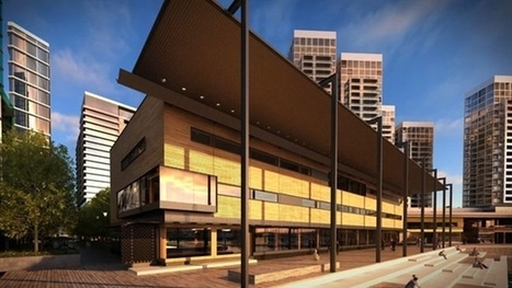 Hi-tech library tipped to transform much-maligned Docklands precinct | Libraries in Demand | Scoop.it