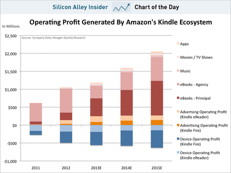 How Much Money Amazon Is Making From The Kindle | Making Money Online Business | Scoop.it