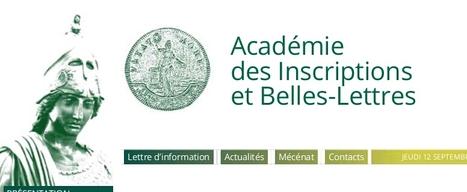 JEP2013 - De Prosper Mérimée (1803-1870) à la Carte archéologique de la Gaule : l'Académie et la redécouverte du patrimoine archéologique français | Nos Racines | Scoop.it