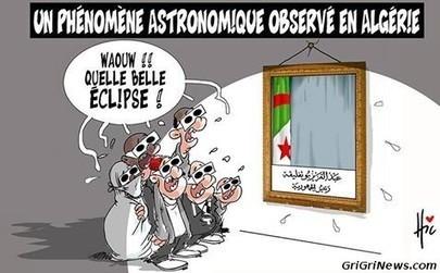Dessin de presse Algérie : le phénomène astronomique de l'éclipse   Actualités Afrique   Scoop.it