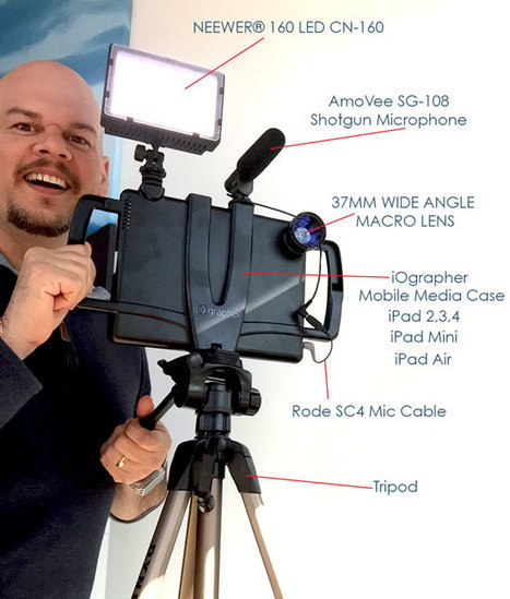 What's that Setup? – iOgrapher Mobile Media Case for iPad plus add-ons | Felix Jacomino | Technology in Education | Scoop.it