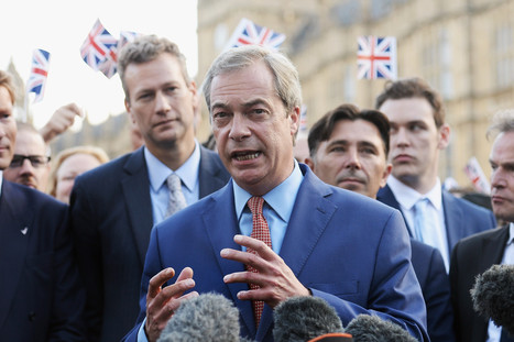 Nigel Farage: UK heading for recession but nothing to do with Brexit - The i newspaper online iNews | Welfare, Disability, Politics and People's Right's | Scoop.it