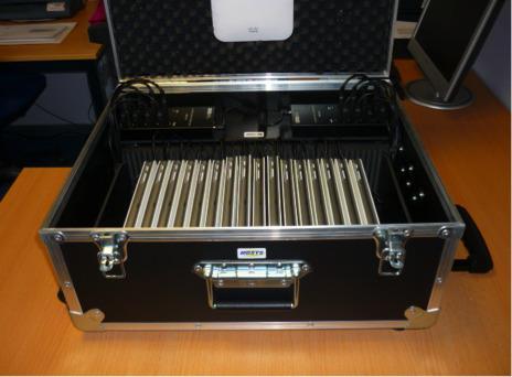 Moduclass : une valise à casiers modulables et amovibles pour 20 tablettes | Trucs et bitonios hors sujet...ou presque | Scoop.it