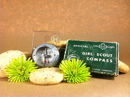 Antique Official Girl Scout Compass | Antiques & Vintage Collectibles | Scoop.it