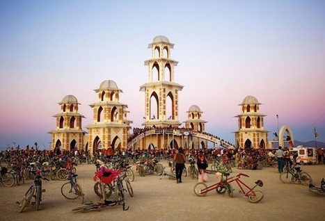 All the Greatest Pop-Up Architecture from Burning Man 2015 | Bentley Systems | Scoop.it
